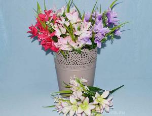 Искусственные, цветы, букет, декор, троица, пасха, красивые, дешево