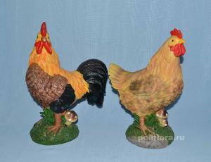 Курица/петух 33 см