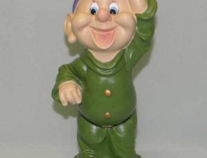 Гном в зеленом костюме 30 см NF29399-2