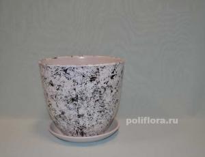 Керам.набор х4 Тюльпан Мрамор