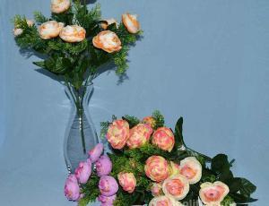 Троица, искусственные цветы, красивые, недорого, цветы на кладбище, декор,пасха, ритуальные цветы, букеты искусственные, роза пион