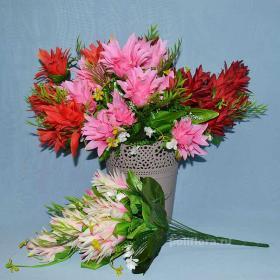 букет, искусственных, цветов, дешево