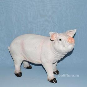 поросенок, свинка, свинья, свинюшка, хряк, фигуры для сада, садовые фигуры, ландшафтная фигура, фигурка, китай , полистоун, садовое,  дешево, распродажа, высокое качество, украшения , декор