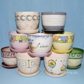 Красивый, керамический, горшок, цветы, комнатные, декор, качество, россия