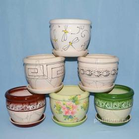 Керамика, керамические горшки, декор, комнатные растения, качество, россия, глазурованнаякерамика,  глина, цветочный горшок , набор, крым, цветные, кашпо, для цветов, модные, стильные, интерьерные