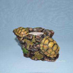 Кашпо-Черепахи, декор, ландшафт, декор, недорого, китай, качество
