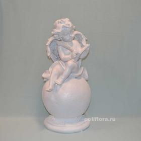 Ангел на шаре с книгой  53 см  CQP0805-08BS