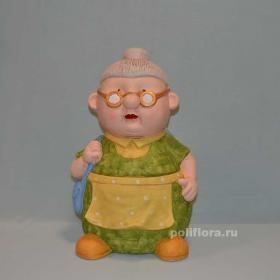 Бабка в очках 41 см OY72-41009-16