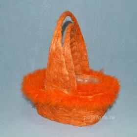 QY96748  Корзина (сизаль) 3 шт оранж.