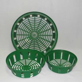 Контейнеры ,корзинка для луковичных, для посадки,  круглая, овальная, квадратная, черная, зеленая, пластиковая , нарцисс, емкости для луковичных растений, горшки