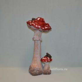 Мухомор с улыбкой, гриб, грибочек, декоративный, яркий, красный, поганка