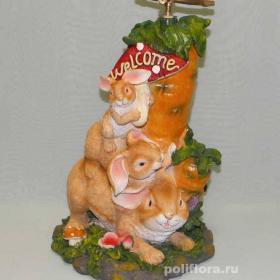 Поливалка Зайцы с морковкой CA85095