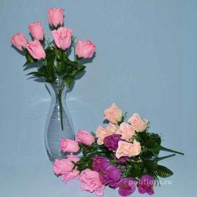 Троица, искусственные цветы, красивые, недорого, цветы на кладбище, декор,пасха, ритуальные цветы, букеты искусственные, роза, без отпаривания