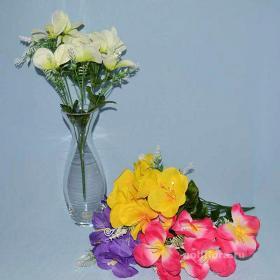 Троица, искусственные цветы, красивые, недорого, цветы на кладбище, декор,пасха, ритуальные цветы, букеты искусственные, фрезия