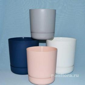 Красивый, горшок, глуюокий поодон, декор, интерьер, стиль, современный, качество, дешево, синий, серый, белый, розовый