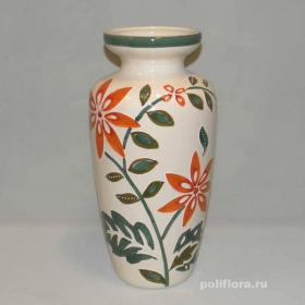 ваза, керамика, цветы,срезка,  декор, украшения, уют, ассортимент, глина, роспись, цветочные, интерьер, напольный, подарок
