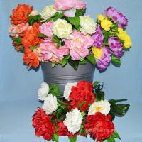 пион, цветы, искусственные, красивые, букет, декор, троица, пасха