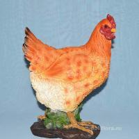 Курица  пестрая 30 см J001