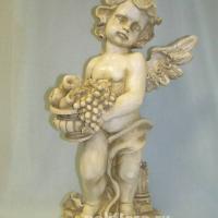 Ангел с фруктами  50 см  QTY85147FD