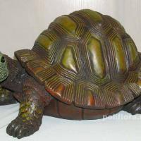 Черепаха коричневая 20 см Н3205