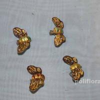Декор-Мотыльки 5 см (ткань-клипса) 2897-5