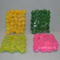 DY524 Шарики 30 штук 17х14х3 желтый; DY519 Шарики 30 штук 17х14х3 зеленый; DY520 Шарики 30 штук 17х14х3 салатовый; DY523 Шарики 30 штук 17х14х3 розовый