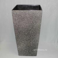 Финезия кашпо 300x300x570, 400х400х750 кремовый крашеный