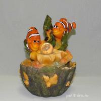 Фонтан-Рыбки с шариком  NF29627-1