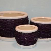 керамический набор, горшки, цветы, декор, качество, дизайн, керамика