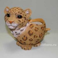 Кашпо - Леопард  22 см  HA 9009-4A