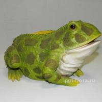 Кашпо - Лягушка  пятнист. 25 см  HA 9008-3N