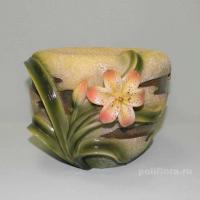 Кашпо - Цветок лилия