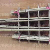 Решетки для вьюнов бамбук. шир.  х4   35, 45, 63, 85
