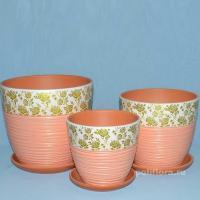 Розы оранжевые, набор, керамический набор, красивый, оранжевый