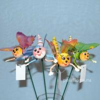 Стикер - Бабочки 1773-60