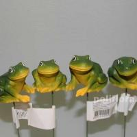 Стикер -  Лягушки зеленые  XQ12076-1
