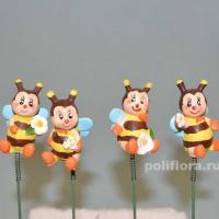 Стикер - Пчелки 5 см KXY14A5828