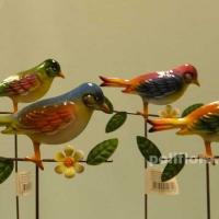 Стикер - Птичка  на ветке KXY13A5106-11