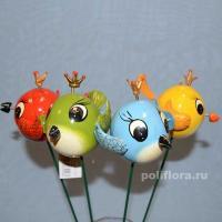Стикер - Птички с короной 1830-56