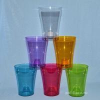 Тиса кашпо 12,5  янтарный, бирюзовый, зеленый, малиновый, прозрачный, фиолетовый