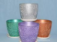 Спектр, керамический, набор, блеск, модный, горшки