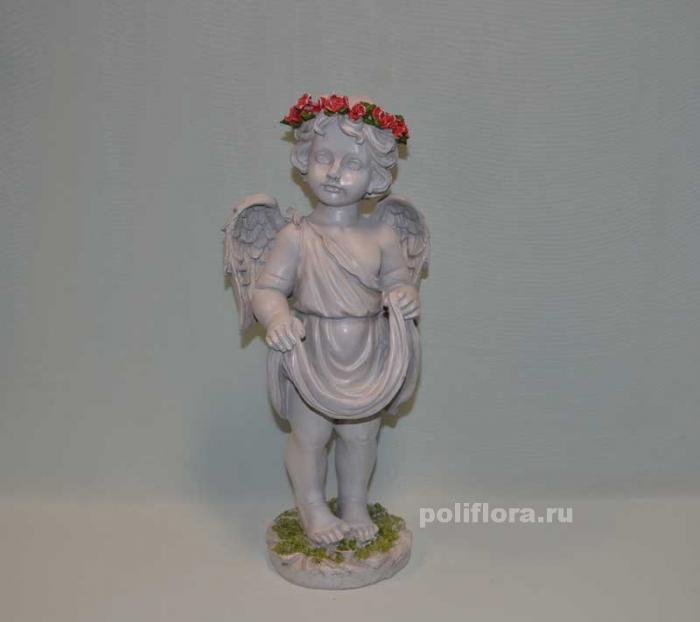 Ангел с розами 41 см OY145-98149МА