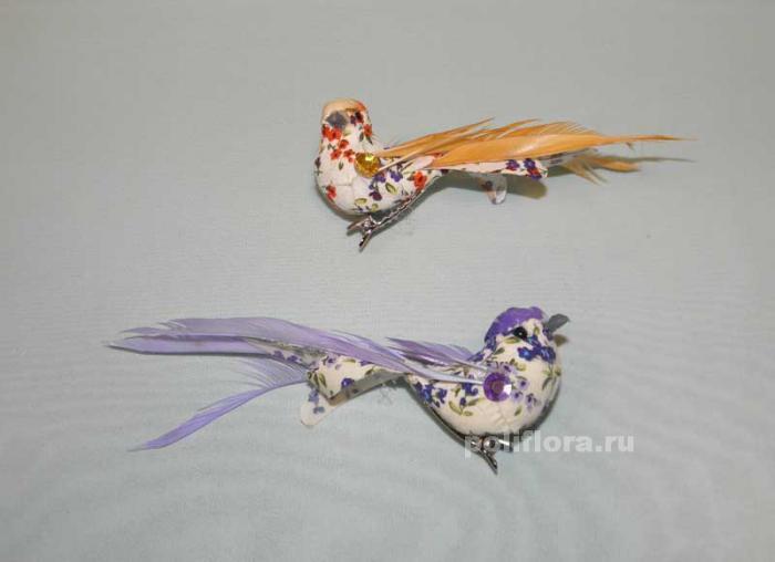 Птичьи перья своими руками 887