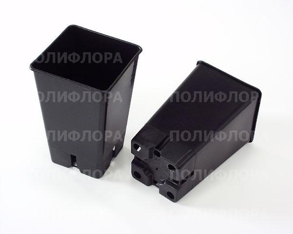 горшок для рассады квадр. габариты  12х12х19,5 (v-2 л)