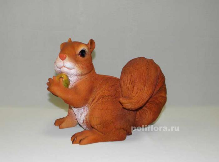 Кашпо - Белка с орехом  22 см   HA 9008-2N