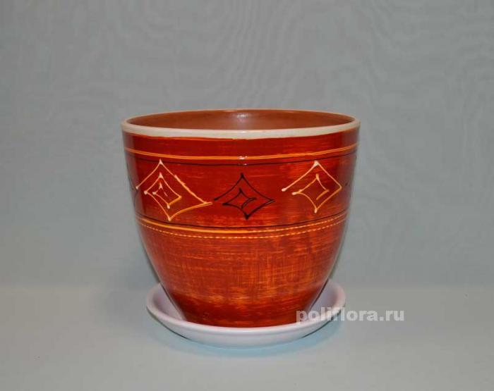 Керам.набор х4 Тюльпан Белорусочка
