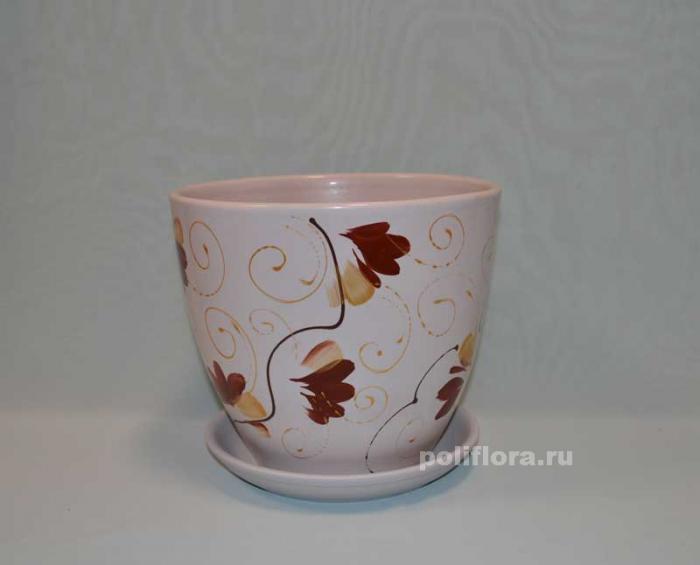 Керам.набор х4 Тюльпан Орхидея