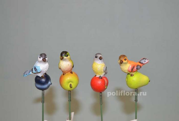 Стикер - Птички 5 см KXY14A5134